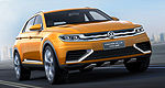 Auto Shanghai 2013: world premiere of VW CrossBlue Coupe Concept