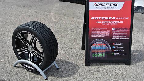 Bridgestone Potenza Re97As Review >> Tire Test Bridgestone Potenza Re97as Car News Auto123
