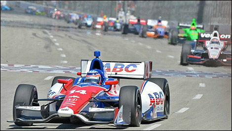 IndyCar Takuma Sato Long Beach