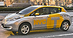 New York City launches Nissan LEAF electric taxi pilot