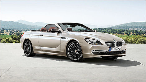 2013 BMW 6-Series Cabriolet 3/4 view
