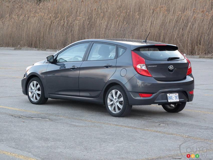 2013 Hyundai Accent Gls 5