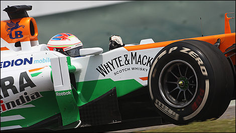 Paul Di Resta, Sahara Force India  F1 2013