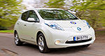 Nissan LEAF doubles as British police car