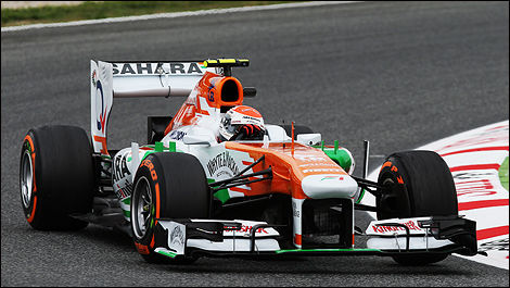 F1 Sahara Force India Adrian Sutil