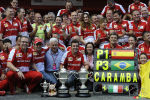 F1 Spain: Celebrating Fernando Alonso's victory in Barcelona (+photos)