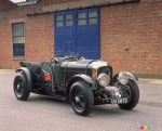 Deux Bentley Blower 1930 � la course Mille Miglia