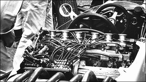 1964 Honda V12 Formula 1 engine