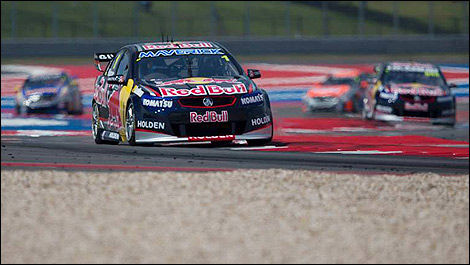 V8 Supercars Jamie Whincup COTA Austin