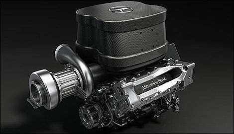 F1 Mercedes-Benz engine V6