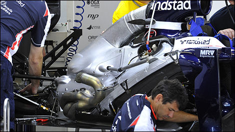 F1 Williams Renault engine