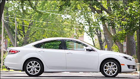 2011 Mazda6 GT V6 Side View