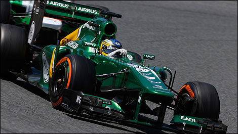 F1 Caterham CT03 Renault