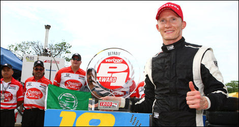IndyCar, Mike Conway, Detroit