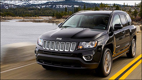 Jeep Compass 2013 vue 3/4 avant