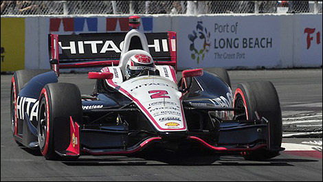 IndyCar Ryan Briscoe Long Beach