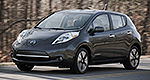 Nissan LEAF 2013 : plus abordable, recharge plus rapide