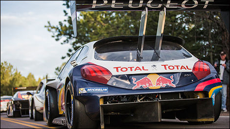 Rally Pikes Peak Peugeot 208 T16 Red Bull