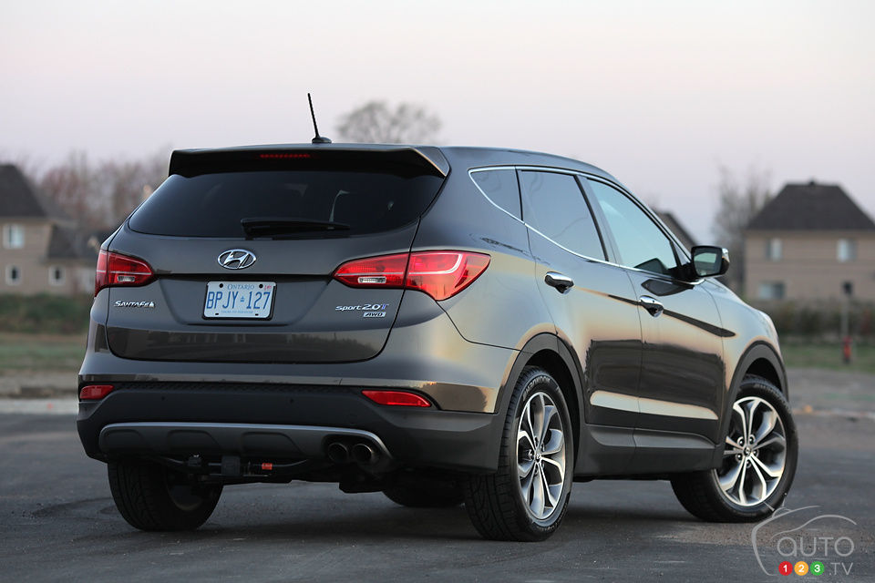 Review Highlights. 2013 Hyundai Santa Fe ...