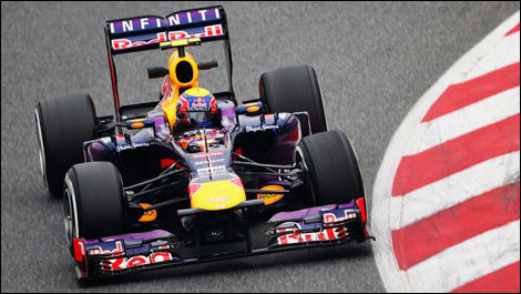 F1 Red Bull RB9 Mark Webber