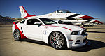 Ford: une Mustang GT 2014, édition U.S. Air Force Thunderbirds
