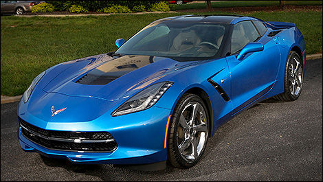 Chevrolet Corvette Stingray « Premiere » 2014 vue 3/4 avant
