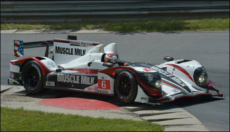 ALMS, Lime Rock, Muscle Milk Racing