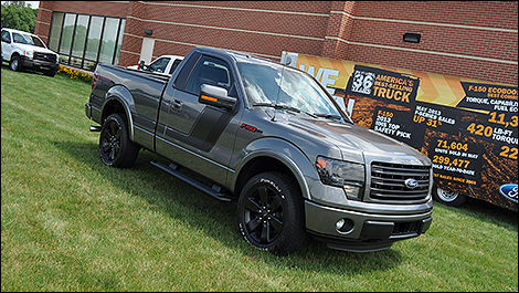 Ford F-150 Tremor 2014 vue 3/4 avant