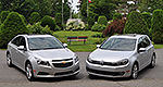 Volkswagen Golf TDI 2013 vs Chevrolet Cruze Turbo Diesel 2014