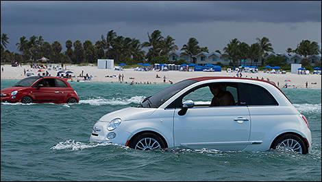 Fiat 500c Jet Ski