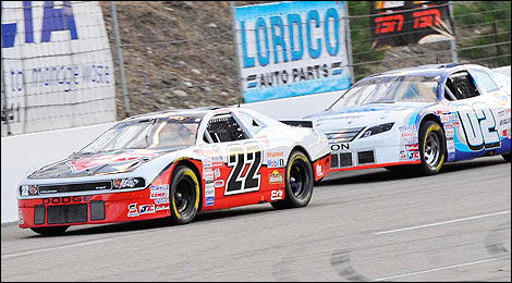 NASCAR Canadian Tire Scott Steckly