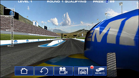 "Mopar releases free ""Drag N Brag"" game on iTunes"