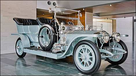 Rolls-Royce Ghost Silver Dawn 1908