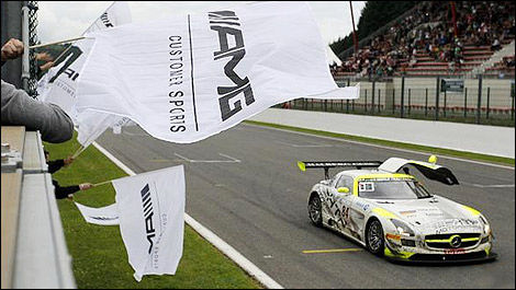 GT 24 Hours of Spa Mercedes AMG