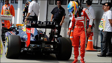 F1 Fernando Alonso Red Bull
