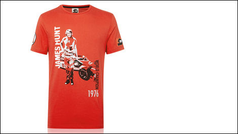 F1 James Hunt t-shirt