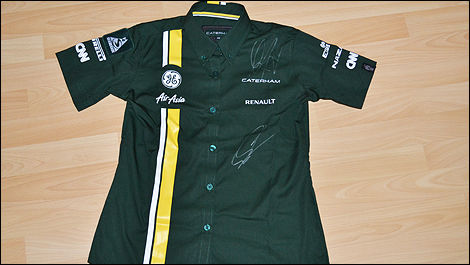 F1 Caterham shirt