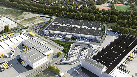 A 24,000 sqm export hub for Volkswagen in Germany