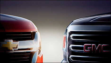Chevrolet Colorado et GMC Canyon