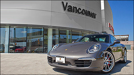 Canada's first new concept Porsche dealership opens in Vancouver