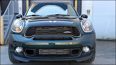 MINI John Cooper Works Countryman ALL4 2013 vue de face