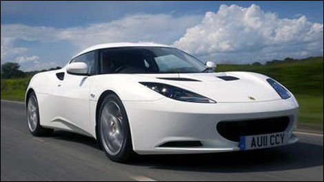2013 Lotus Evora 2013 3/4 view