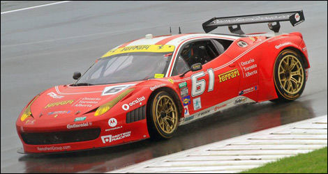 Alex Tagliani, Grand-Am, Ferrari, Kansas Speedway