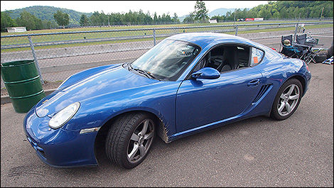 2007 Porsche Cayman side view