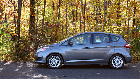 2013 Ford C-MAX side view