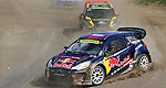 Rallycross: Fabien Pailler leads at Loheac, Loeb is 9th