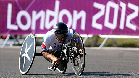 Alex Zanardi JO London 2012