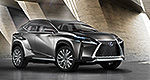 Lexus: LF-NX Concept World Premiere at Frankfurt