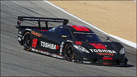 Grand-Am Corvette Daytona Max Angellili Jordan Taylor