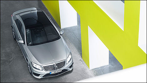 Mercedes-Benz S63 AMG 4MATIC 2014